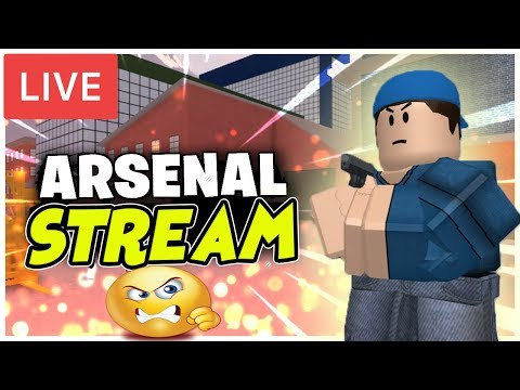 Roblox Arsenal Live!🔴|Grinding Them Levels! 📈Come Fight me!😤|Come join me! 😄