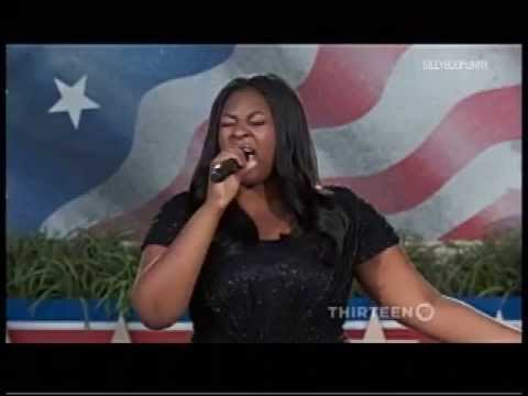 candice - American Idol winner Candice Glover sings the National Anthem at the Memorial Day Concert in Washington DC. [05.26.13] No copyright infringement intended. Ca...