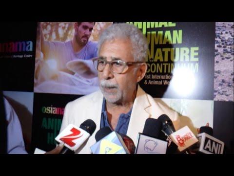 Naseeruddin Shah Blames Media For His Recent Contr