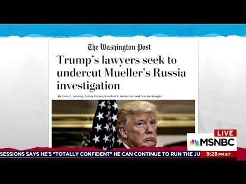 TRUMP's Lawyers: Powers To Pardon Aides, Family Members & Himself!!