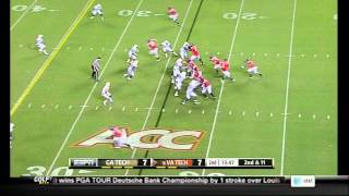 Jeremiah Attaochu vs Virginia Tech (2012)