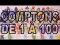 [LE COMPTE EST BON] Compter jusqu'à 100 à 3 ans - Studio Bubble Tea 100 figurines