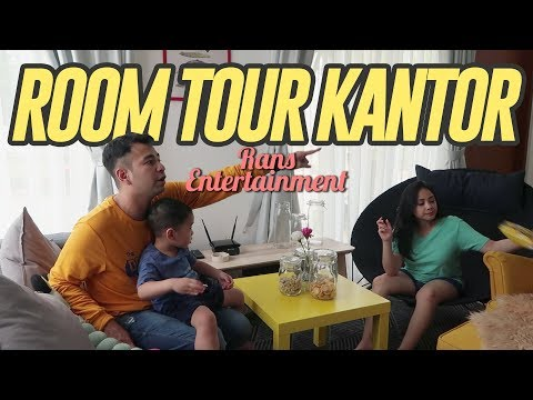 ROOM TOUR KANTOR RANS ENTERTAINMENT RANSVLOG