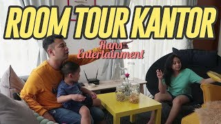 Video ROOM TOUR KANTOR RANS ENTERTAINMENT #RANSVLOG MP3, 3GP, MP4, WEBM, AVI, FLV Juni 2019