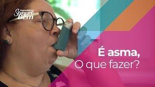 É asma, o que fazer?
