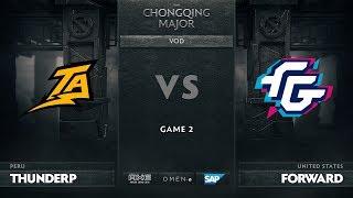 Thunder Predator vs Forward Gaming, Game 2, The Chongqing Major Group B