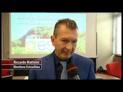 Piu' efficienza e tutela ambientale: intervento di Estra Clima nello stabilimento Acqua Verna