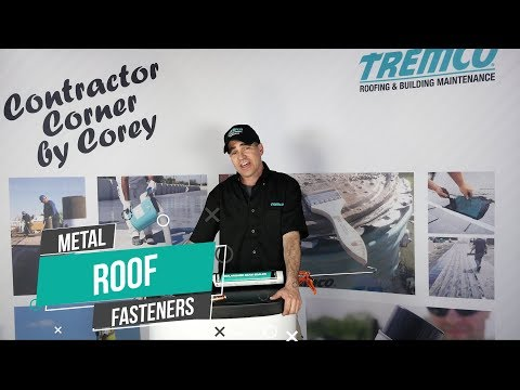 Seal Metal Roof Fasteners Quickly With Little Waste