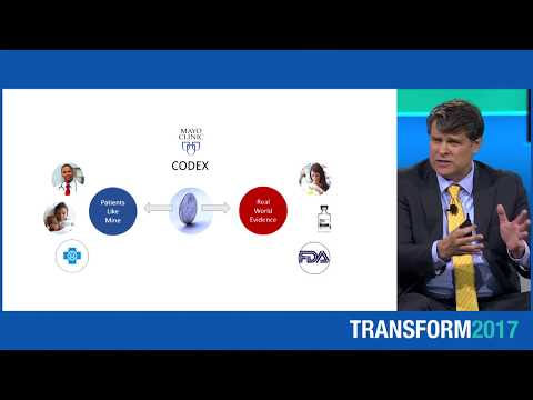 Video Thumbnail for: Mayo Clinic Transform 2017 - Session 3: Case Study CODE-X: Robert Fassett, M.D.