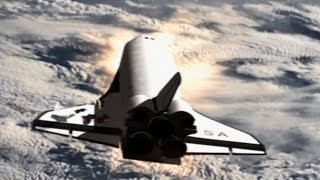 Space Shuttle Columbia - Falling Star HD