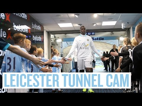 Video: TUNNEL CAM | City 1-3 Leicester City