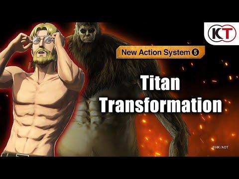New Equipment: Titan Transformation de Attack on Titan 2: Final Battle
