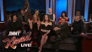Video The Cast of The Last Jedi on Being in the Star Wars Universe MP3, 3GP, MP4, WEBM, AVI, FLV September 2018