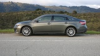 2013 Toyota Avalon Review And Road Test (with Infotainment Review)