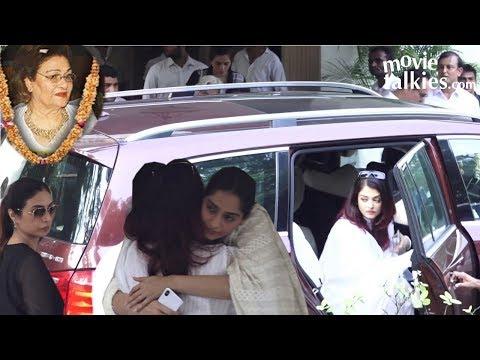 Aishwarya Rai, Sonam Kapoor, Tabu Pay Their Respec