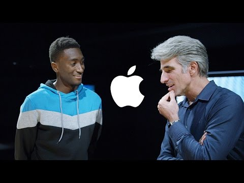 , title : 'Macbook Pro chat with Apple's Craig Federighi!'