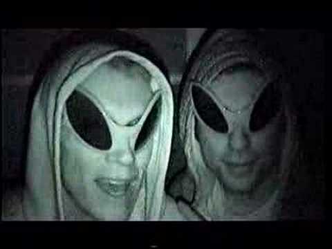 Roommate Alien Prank Goes Bad