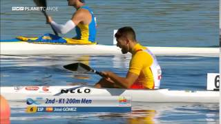 2015 Montemor o Velho K1 200m M juniors World Canoe Sprint Championships