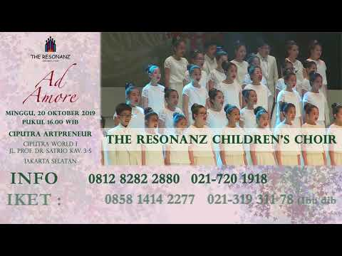 "The Resonanz Children's Choir Mempersembahkan Konser Bertajuk ""Ad More"""