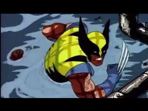 X Men The Animated Series   WOLVERINE KICKS BUTT