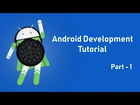 Android Development Tutorial For Beginners 2018 Part 1 | How To Build Professional Android App