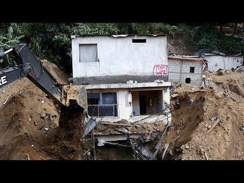 Γουατεμάλα: Στους 131 οι νεκροί από την κατολίσθηση- 300 οι αγνοούμενοι