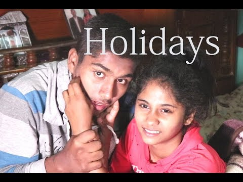 """(Nepali short comedy video """"Holidays"""" by Aama Agnikumari Media - Duration: 5 minutes, 44 seconds.)"""