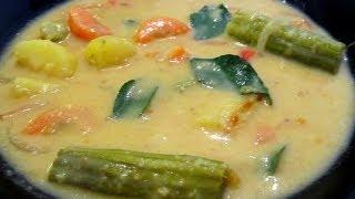 Sodhi/ Vegetables in coconut milk- in Tamil