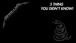 Download Lagu Metallica's Black Album: 5 Things You DIDN'T Know! Mp3