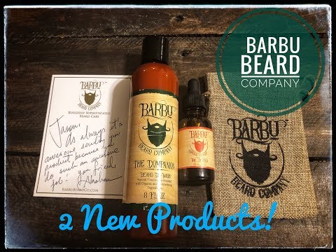 Barbu Beard Co Beard Product Review {Beard Oil and Co-wash} Highly Recommend!