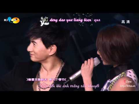 [Vietsub+Kara] Mùa em chờ mong - Lưu Thi Thi feat Ngô Kì Long (OST Bộ Bộ Kinh Tâm)