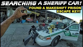Video Searching A Sheriff Car Found Makeshift Prison Escape Key! Ford Crown Vic Police MP3, 3GP, MP4, WEBM, AVI, FLV Desember 2018