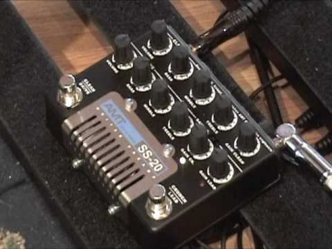 AMT Electronics SS-20 Dual Preamp guitar effects pedal demo
