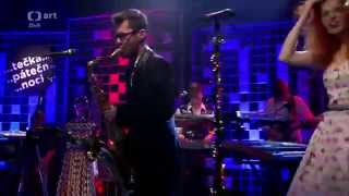 Video Mydy Rabycad - Bouncing Swing (Electroswing Live in Czech TV)