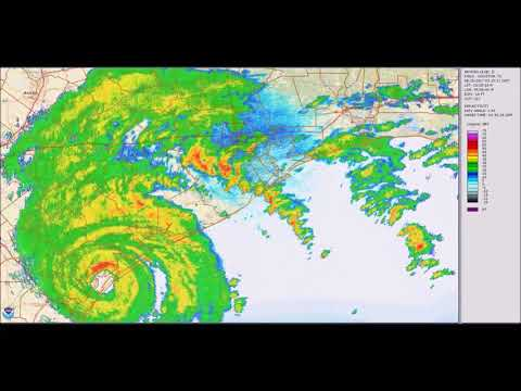 Hurricane Harvey 5-Day Weather-Radar Loop
