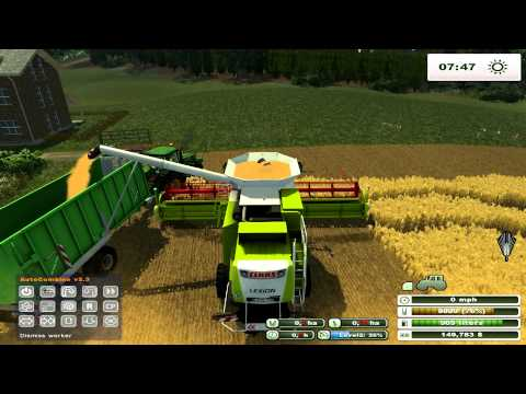 Farming Simulator 2013 on Holzhausen Agriculture Forestry map pt3