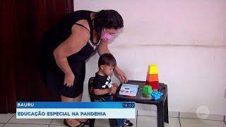 Deficientes e autistas têm educação especial à distância na pandemia