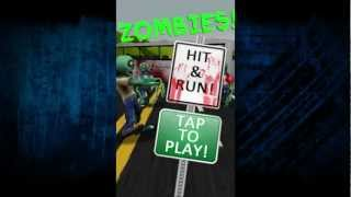 ZOMBIES! Hit and RUN! YouTube video