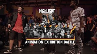 Animation – HIGHLIGHT THE STYLE Exhibition Battle