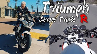 2. Test Ride & Review: 2014 Triumph Street Triple R