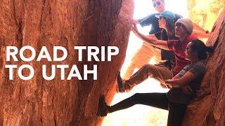 Road Trip to UTAH: Rock climbing, Hiking and Shenanigans! by  rockentry