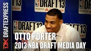 Otto Porter - 2013 NBA Draft Media Day Interview