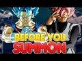 BEFORE YOU SUMMON! NEW TEQ Vegito Blue & STR Rose Goku Black   Dragon Ball Z Dokkan Battle