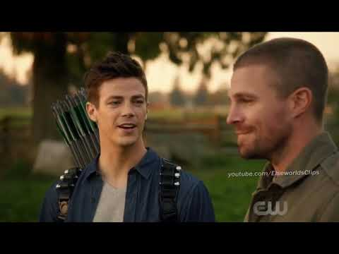 Barry gets his revenge on Oliver - The Flash Season 5 Episode 9