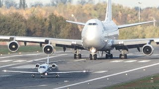 Video BOEING 747 vs. CESSNA Citation - GET OUT OF MY WAY (4K) MP3, 3GP, MP4, WEBM, AVI, FLV Juni 2018