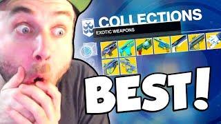 MY BEST EXOTICS! (Destiny 2)