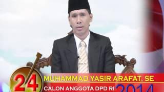 video Muhammad Yasir Arafat-  DPD Jambi no.24
