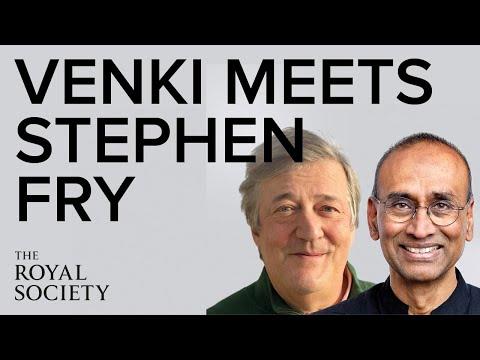 The Royal Society | An evening with Stephen Fry and Venki Ramakrishnan