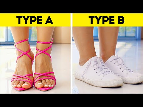 THERE ARE ONLY TWO TYPES OF GIRLS    WHICH ONE ARE YOU?