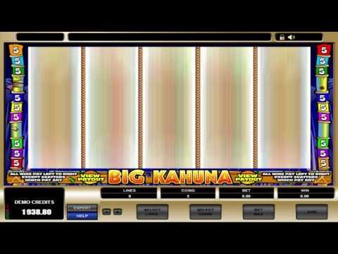 FREE Big Kahuna ™ slot machine game preview by Slotozilla.com